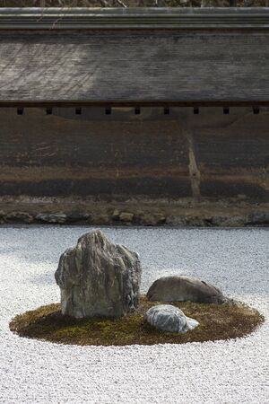 hojo: The Temple of the Peaceful Dragon rock garden