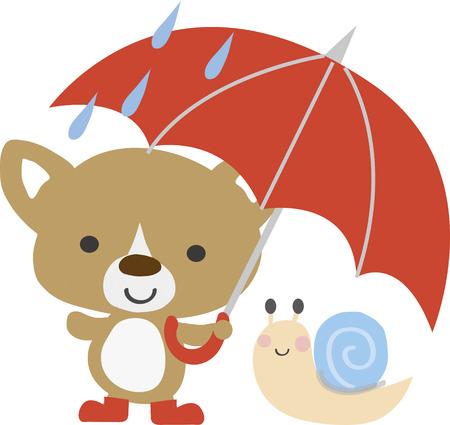 rainy day: A rainy day