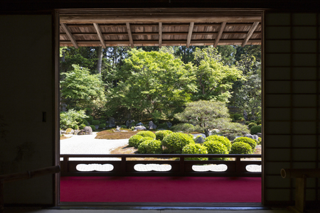 manche: Garden from the Manche Institute small Shoin
