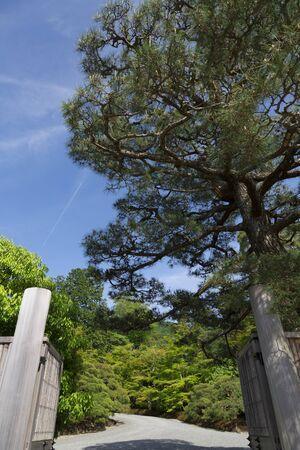 main gate: Shugakuin Imperial Villa of the main gate
