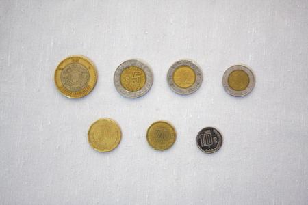 メキシコ通貨 写真素材