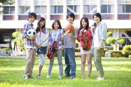Club activities to university students