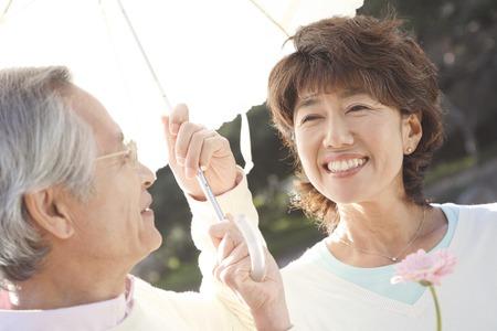 Senior couple image Stok Fotoğraf - 43240865