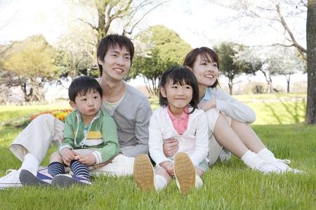 家族画像 写真素材