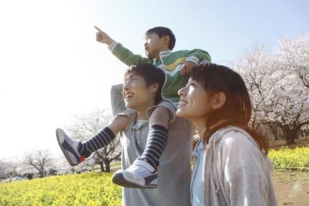 Familie beelden Stockfoto