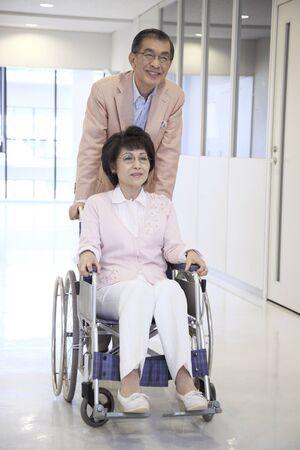 age 60: Nursing images Stock Photo