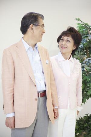senior men: Senior couple Stock Photo