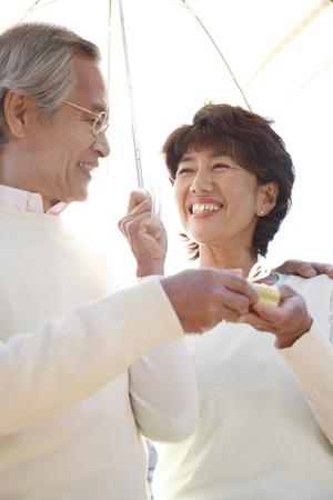 Senior men to pass a gift to wife