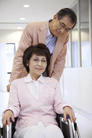 woman chair: Nursing images Stock Photo