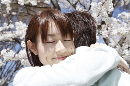 adult rape: Woman hugging in lover