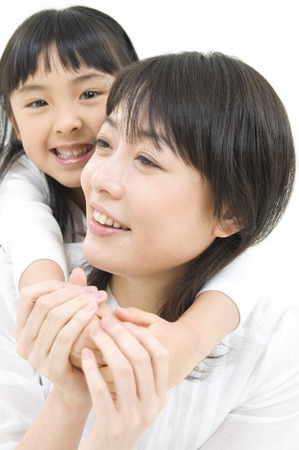 nuclear family: Daughter to get piggyback ride to her mother