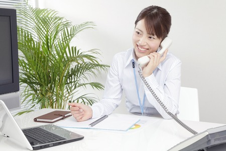 to be pleasant: OL to call with a smile