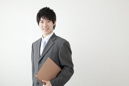 japonais: Souriant homme d'affaires