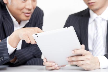 Businessmen see Tablet PC