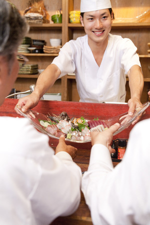 farewell party: Chef to issue a cuisine from counter