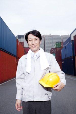 quarantine: Smiling workers