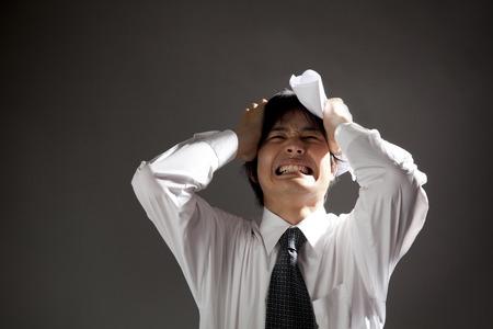 Businessmen head