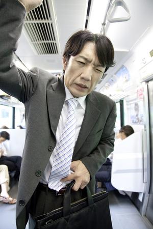 abdominal pain: Businessman to cause abdominal pain