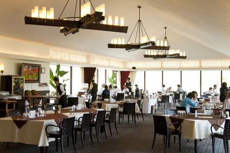 Of Club House Restaurant Stockfoto