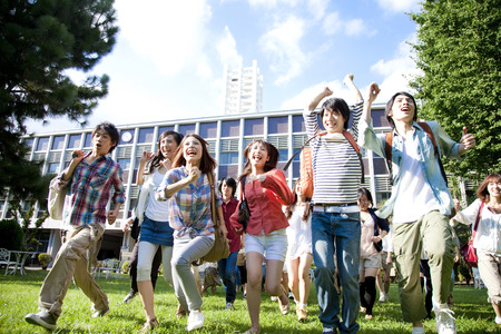 College students who run the schoolyard