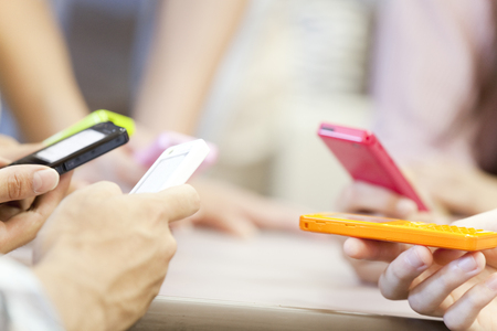 mutually: College students that are mutually attracted the mobile phone