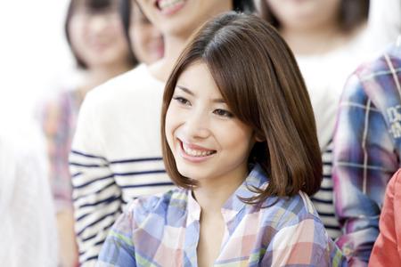 笑顔の大学生 写真素材 - 43021946