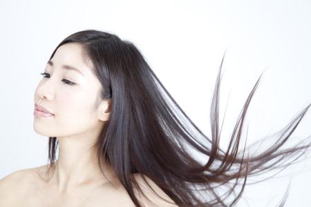 Long hair women