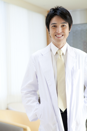 to be pleasant: Doctor of smile Stock Photo