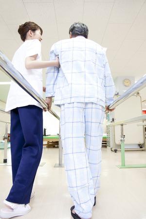 pacjent: Pacjenci Rehab i trener