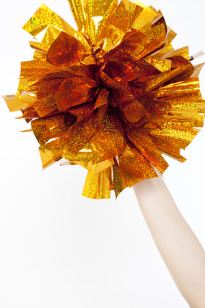pom: Pom cheerleader Stock Photo