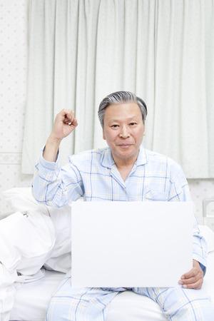 pacjent: Pacjenci z tablicy wiadomości Zdjęcie Seryjne