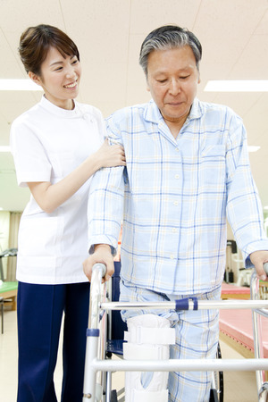 patients: Rehab patients and trainer