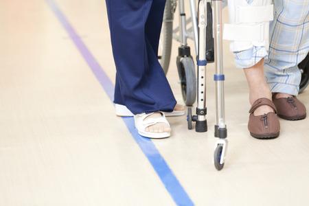 pacientes: Los pacientes de rehabilitaci�n y entrenador
