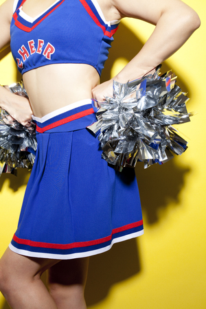 servant: Female servant of cheer to Cheerleader