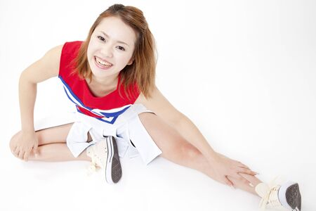 malleable: Cheerleader to stretch