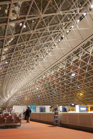charles de gaulle: Charles de Gaulle Airport Editorial