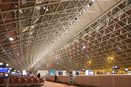 gaulle: Charles de Gaulle Airport Editorial