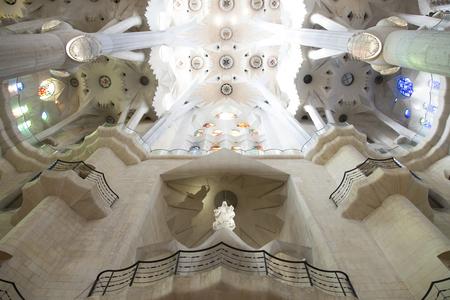 sagrada familia: Interior of the Sagrada Familia