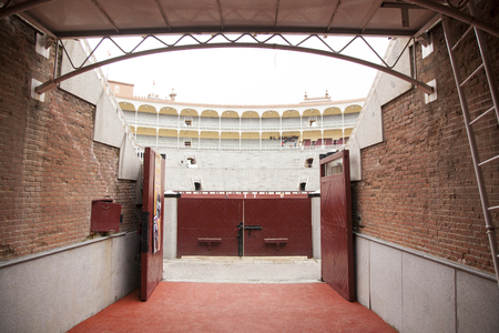 las ventas: Las Ventas of the entrance gate Editorial