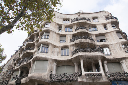 appearance: The appearance of the Casa Mila