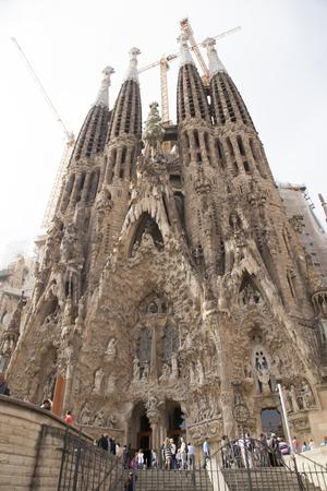 sagrada familia: The appearance of the Sagrada Familia