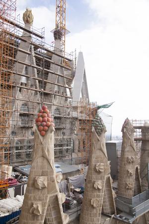 familia: Exterior of the Sagrada Familia