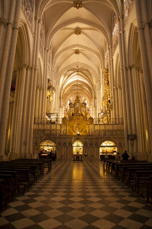 introspection: Toledo Cathedral introspection of