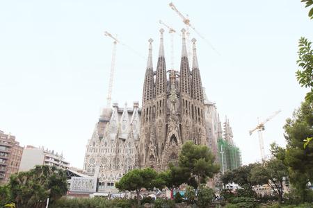 appearance: The appearance of the Sagrada Familia