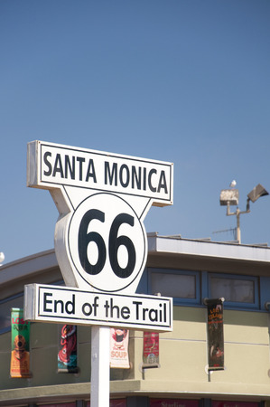 66: Sign of Route 66 Editorial