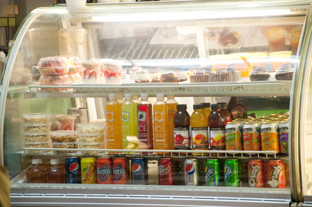 refrigerated: Refrigerated showcase