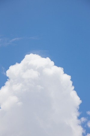 pleasent: Towering cloud in summer