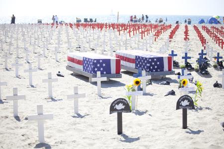foreign country: Santa Monica Beach