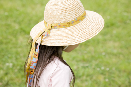 straw the hat: Girl who suffered a straw hat