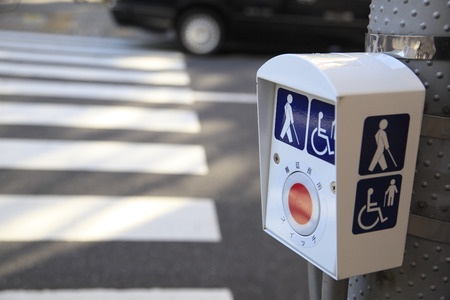 Pushbutton for vulnerable road users